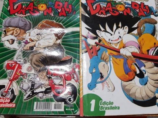 Dragon Ball Edição Conrad Volume 1 Ao 32(faltando volume 3 ao 6)