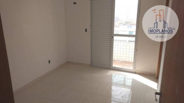 Apartamento com 2 dormitórios à venda, 72 m² por r$ 322.000 - canto do forte - praia grand - Foto 10