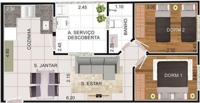 Apartamento à venda, 42 m² por R$ 248.000,00 - Vila Valparaíso - Santo André/SP - Foto 15
