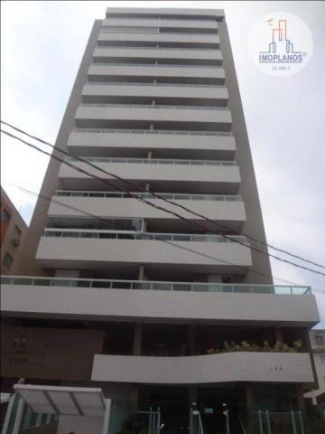 Apartamento com 2 dormitórios à venda, 72 m² por r$ 322.000 - canto do forte - praia grand