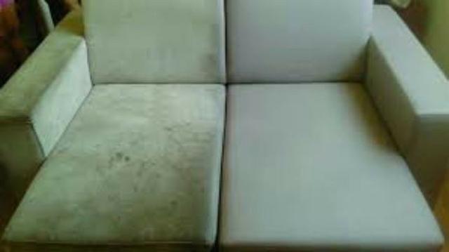 Higienização e Lavagem de sofa a seco colções banco de carro *