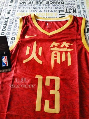 low priced 2bcc2 08e63 Camisa De Time NBA Houston Rockets James Harden SWINGMAN