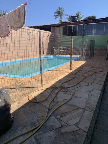 Oportunidade: Casa de 2 qts, suite, piscina no Setor de Mansões de Sobradinho