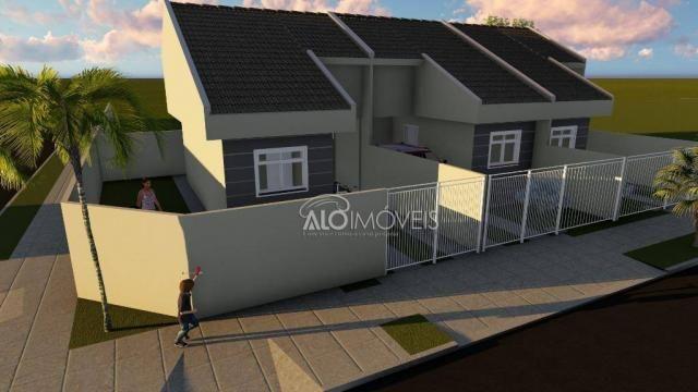Casa com 2 dormitórios à venda, 36 m² por r$ 155.000,00 - ganchinho - curitiba/pr - Foto 12