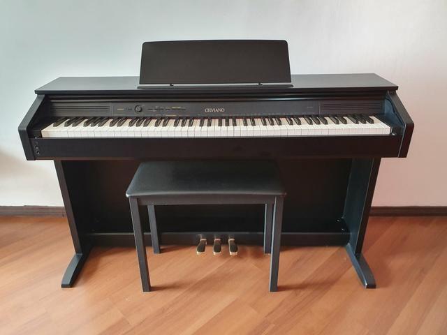 Piano Digital Casio Celviano AP 260 BK Preto c/ Banqueta + Fonte + Livros de lições