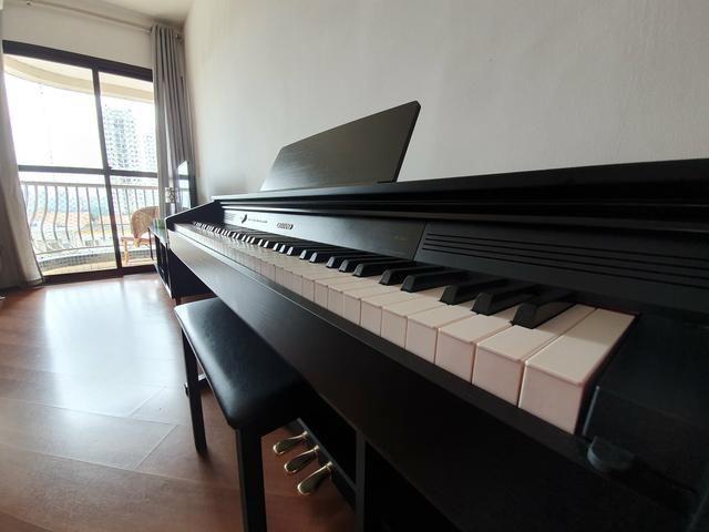 Piano Digital Casio Celviano AP 260 BK Preto c/ Banqueta + Fonte + Livros de lições - Foto 5