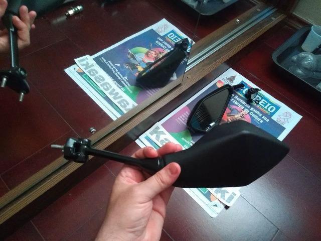 Retrovisor Kawasaki Ninja 650r Lado Direito - Foto 2