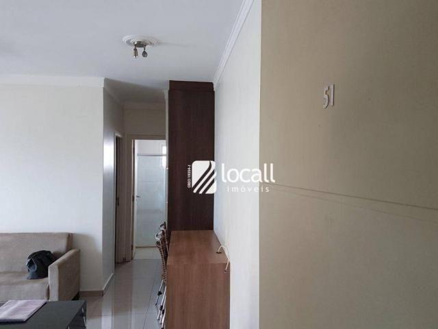 Apartamento para alugar, 40 m² por R$ 1.500,00/mês - Vila Redentora - São José do Rio Pret - Foto 16