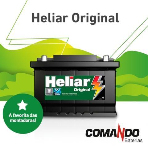Bateria Para Carro Heliar Original 60Ah 18 Meses de Garantia - R$270,00 - Foto 3