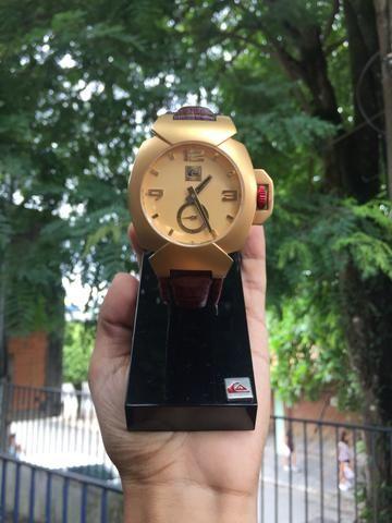 408597afd8881 Relógio Quiksilver FoxHound Gold - Bijouterias, relógios e ...
