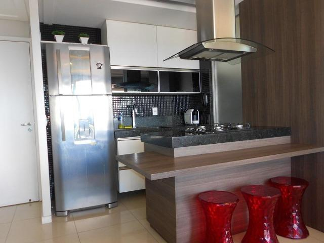 Apartamento no Allegro 14º andar, todo projetado, 3 quartos, 2 vagas - Foto 4