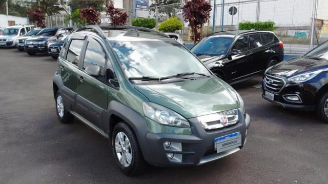 FIAT IDEA ADVENTURE 1.8 16V DUALPLUS FLEX Verde 2013/2014