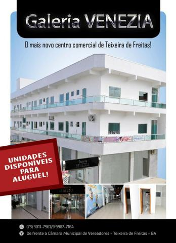 Alugo salas comerciais no centro de Teixeira de Freitas