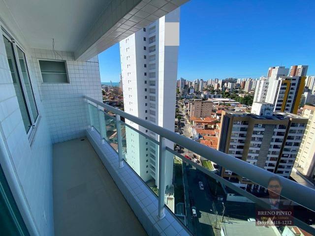 Apartamento com 3 dormitórios à venda, 110 m² por R$ 719.900,00 - Aldeota - Fortaleza/CE - Foto 2
