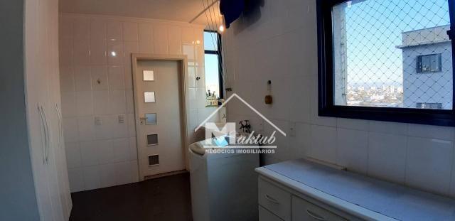 Cobertura com 4 suíte, para alugar, 395 m² por R$ 7.000/mês - Vila Valparaíso - Santo Andr - Foto 14