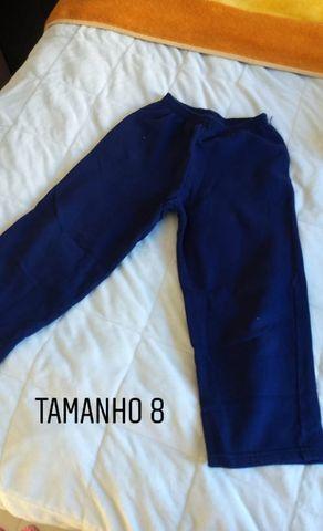 Calças camiseta e moletons de abrigo infantil menino TAM 6,8,12 e 14. Preço acessível - Foto 6