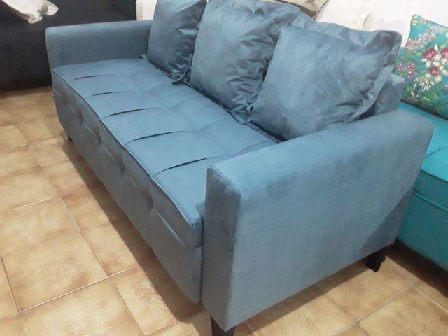 Sofá novo! Super confortável
