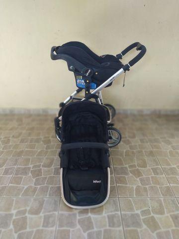 Carrinho com bebê Infanti conforto Travel System - Foto 5