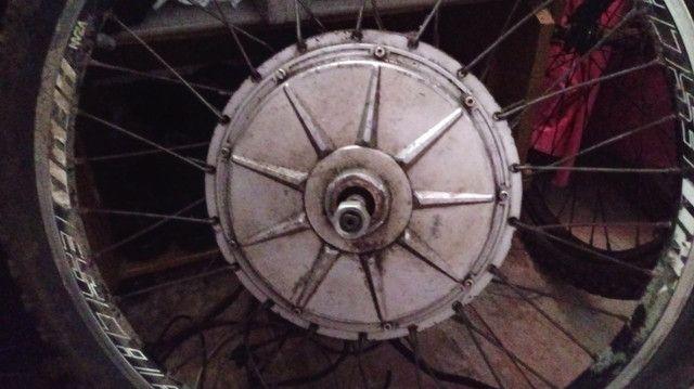 Vendo motor para bicicleta eletrica - Foto 2