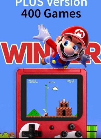 Mini game Sup 400 jogos com controle  - Foto 4