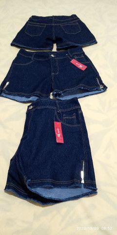 Short jeans plus size feminino - Foto 2