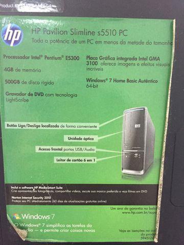 Computador completo MUITO NOVO! - Foto 4