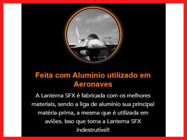 Lanterna SFX original   Lanterna Potente   Lanterna Forte   Lanterna a melhor do mundo - Foto 5
