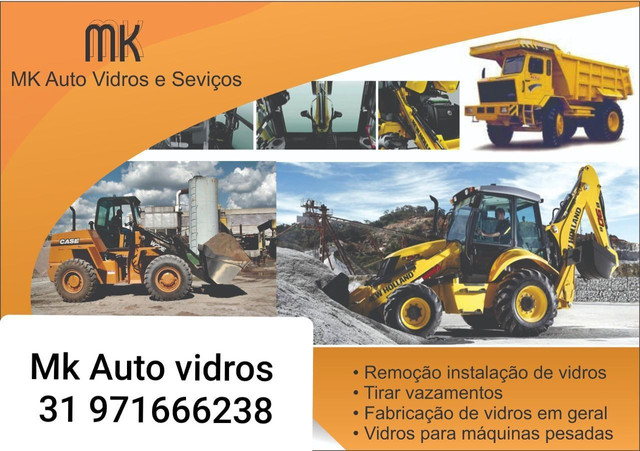 Vidro da porta motoniveladora case 845B enviamos para todo brasil  - Foto 2