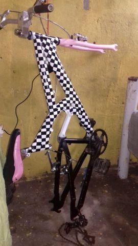 Bike rebaixada quadriculada - Foto 5