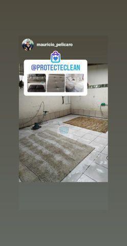 Lavação de tapetes profissional - Foto 3