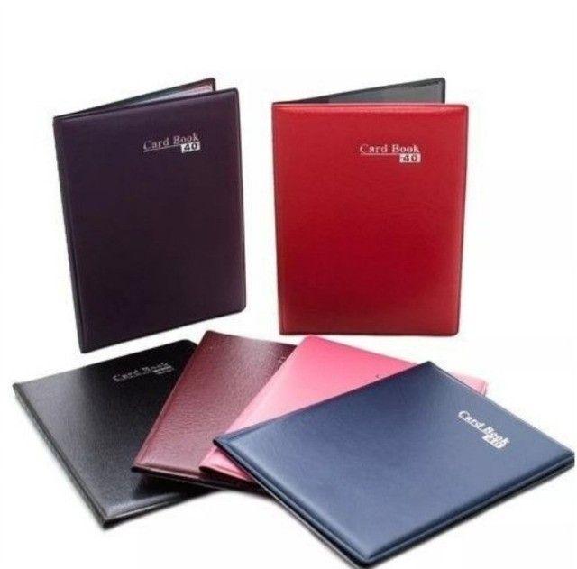 Porta Cartão Carteira Card Book 16 -7 Unidades