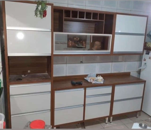 Cozinha Jade R537 Completa 2,66 m 100% MDF. Entrega Rio, Baixada e Niterói