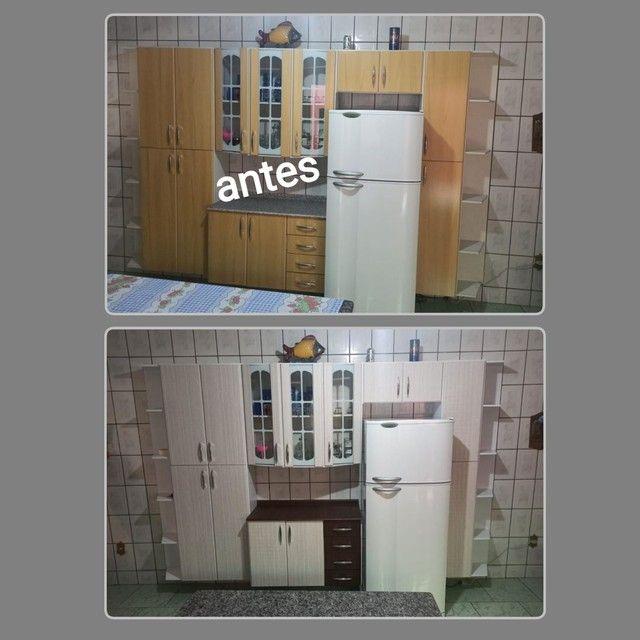 Envelopamento de armario de cozinha - Foto 2
