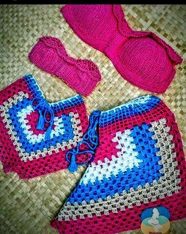 Peças feitas em croche - Foto 2