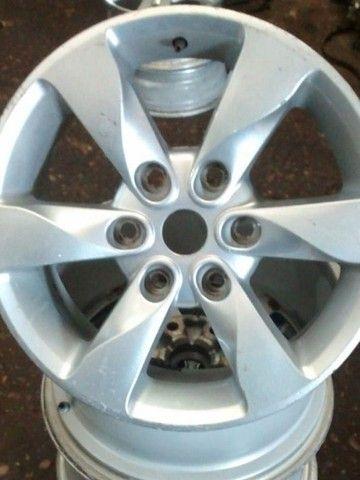 Jogo 4 Pçs Calotas Rodas Liga Mitsubishi Pajero Tr4, L200 Triton. - Foto 5