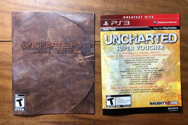 Uncharted 2 - Among Thieves - PS3 (Mídia Física) - Foto 4