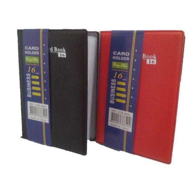 Porta Cartão Carteira Card Book 16 -7 Unidades - Foto 2