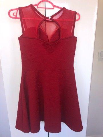 Vestido festa vermelho - Foto 2