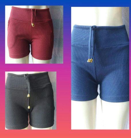 Shorts tecido