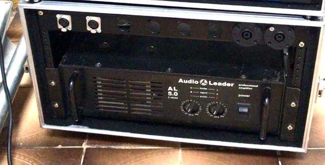 Potência Audio Leader 5.0 amplificador