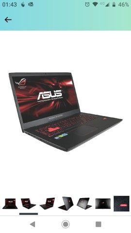Notebook Gamer Asus GTX1060 6GB 17polegadas