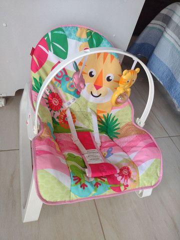 Cadeirinha de descanso infantil - Fisher price - Foto 3