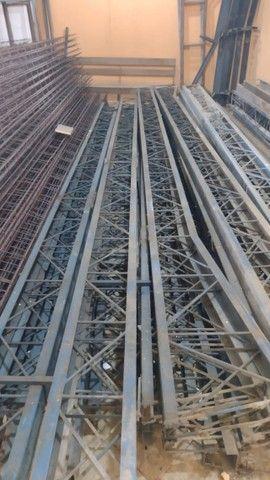 galpão /estrutura / treliça / vigas / ferro