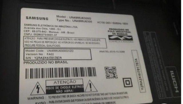 Peças TV Samsung  UN49MU6300 - Foto 3