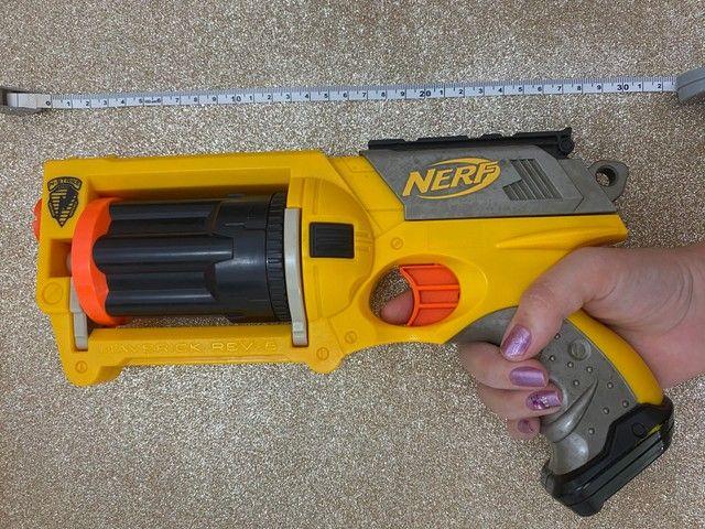 Brinquedo Arma Nerf   Lançador Nerf Maverick Rev-6 - Foto 3