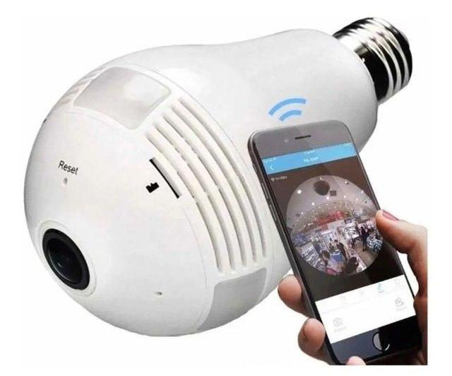lâmpada espiã 360 Wi-Fi - Foto 2