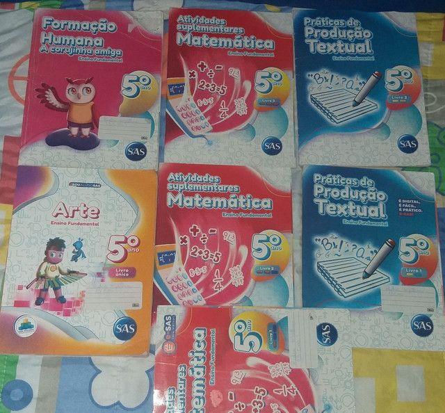 Kit de livros Sas Quinto ano  - Foto 2