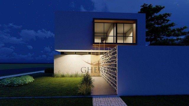 Sobrado Moderno com arquitetura exclusiva com 3 dormitórios sendo 1 suíte, à venda, 150 m² - Foto 8