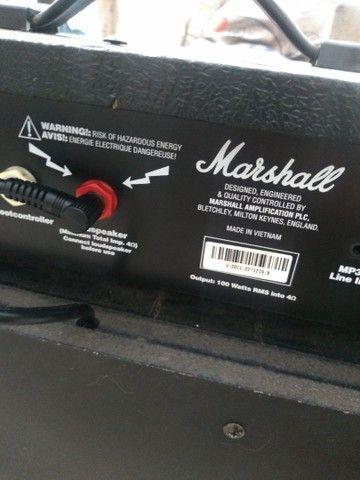 Cubo Guitarra Marshall MG 100 FX - 100 watts - Foto 5