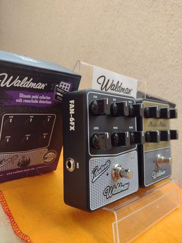 Pedal Guitarra Simulador de amplificador Fender ou Marshall - Foto 4